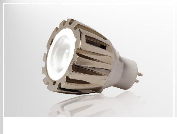MR11 LED Spot light, 1*1W;AC/DC12V input;Warmwhite