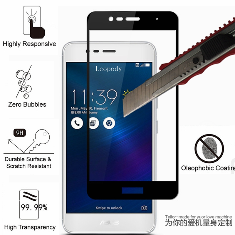 9H 2.5D Screen protector tempered glass FOR <font><b>ASUS</b></font> Pegasus <font><b>3</b></font> X008 <font><b>Zenfone</b></font> <font><b>3</b></font> <font><b>MAX</b></font> ZC520TL X008D cover Film <font><b>zc</b></font> <font><b>520</b></font> <font><b>TL</b></font> sklo glas case image