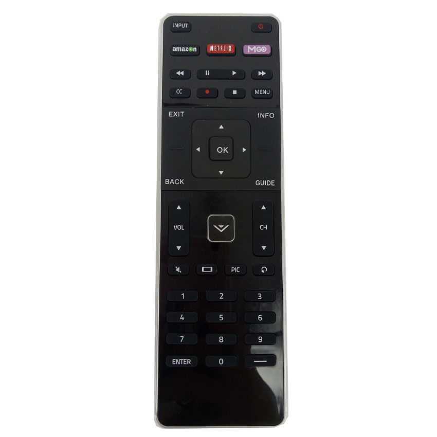 vizio tv remote with keyboard. brand new for vizio xrt500 led hdtv remote control with qwerty keyboard xrt-500 fenrbedienung tv o
