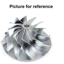 TD02 49173-07502 49173-07505 49173-07507 0375J0 0375Q2 0375Q5 0375Q4 turbo billet compressor wheel for Citroen C3 / C4 1.6 Hdi