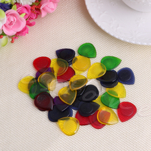 40Pcs Electric Acoustic Guitar Bass Pic Music Pick Plectrum Assorted Thickness Guitar Parts and Accessories
