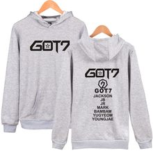 LUCKYFRIDAYF Got7 K-pop Hooded Sweatshirt Women Korean Winter Women Hoodies Sweatshirts Long Sleeve Casual Hip Hop Clothes(China)