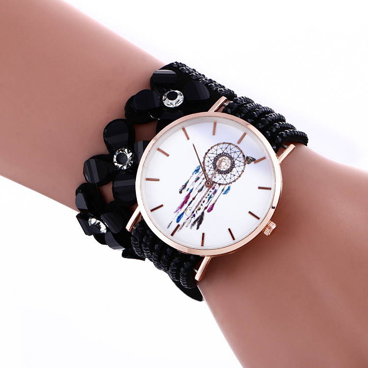 2020 Time-limited A New Fast-selling Korean Furry Bracelet For Women's Dream Catching In With Diamond Flowers