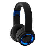Memories Music Bluetooth Headphones Sport Support TF Card AUX With Microphone Best Headphone Wireless Blue Red