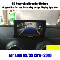 Liandlee Für Audi A3/S3 2017 2018 2019 Reverse Decoder Modul Hinten Parkplatz Kamera Bild Auto Bildschirm Upgrade Display update-in Fahrzeugkamera aus Kraftfahrzeuge und Motorräder bei