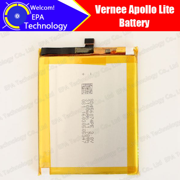 Vernee Apollo Lite Battery 100% Guarantee Original Tested High Quality High Capacity 3180mAh Smart Phone Battery for Apollo Lite