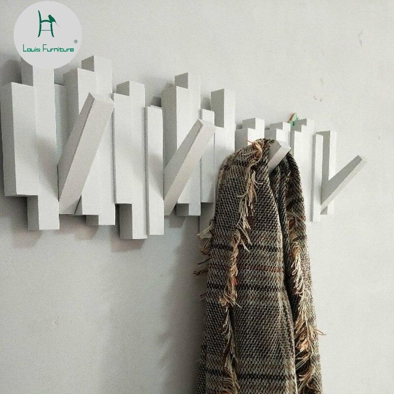 Louis Fashion Coat Racks Clothes Hanger Door Rear Hook Creative Decoration Wall Hangers Rack