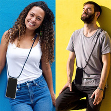 For Xiaomi Redmi note 7 Pro Crossbody Strap Phone Case Lanyard Necklace Shoulder Neck Rope for