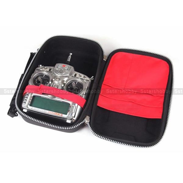 RC Remote Controller Transmitter Bag Case for Futaba FlySky WFLY RadioLink