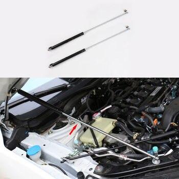 2 sztuk ze stali nierdzewnej pasuje do Honda Civic 16-17 łatwo podnieść pokrywy silnika pomoc teleskopowy Prop