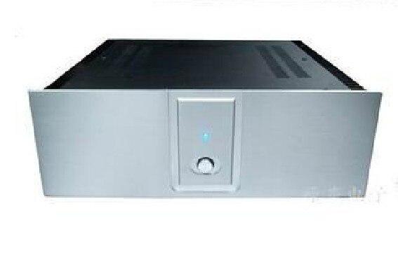case size:420*140*385mm A2001B Full aluminum Power amplifier chassis/AMP Enclosure / case BOX/External radiator/class-A amp case new 3213 full aluminum chassis amplifier case external size 320 130 313mm