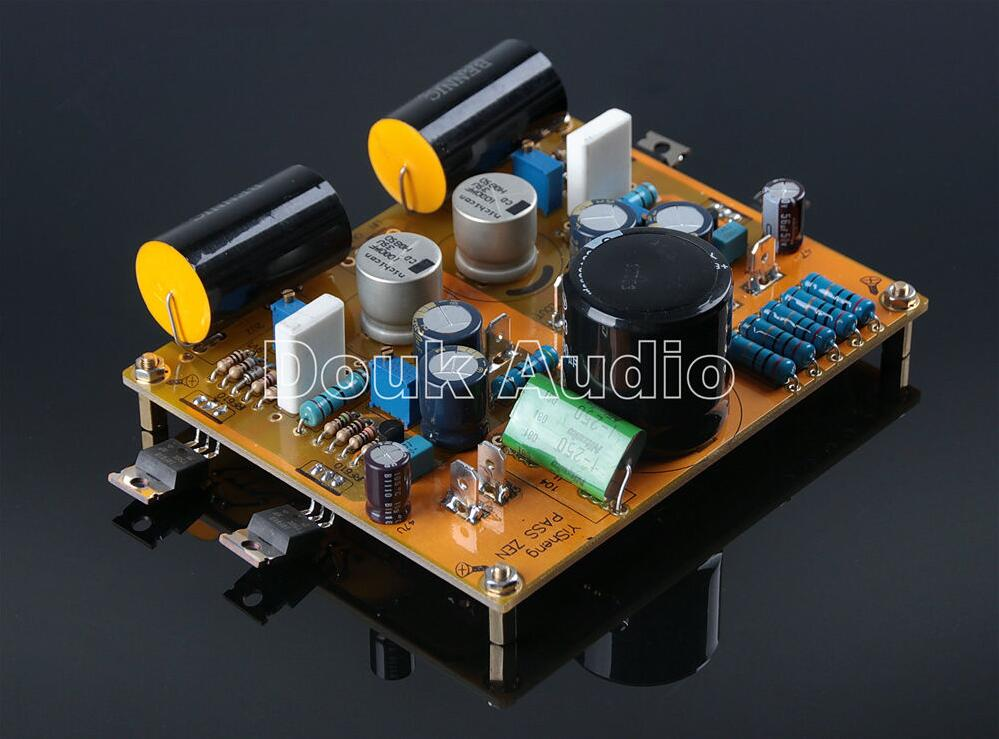 все цены на Douk Audio PASS ZEN Single-ended Class A Amplifier HiFi Amp Board Free Shipping онлайн
