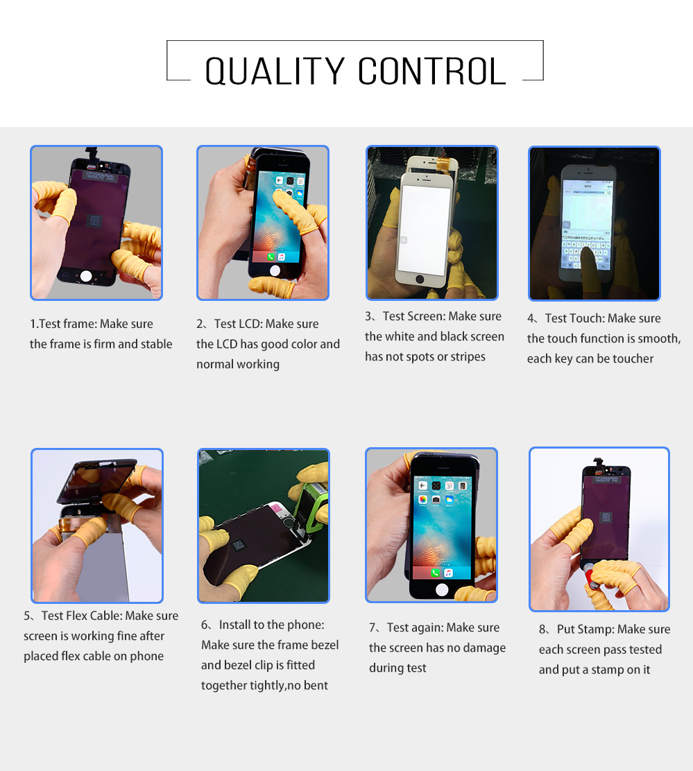 iphone5 LCD Display Touch Capacitive Screen Digitizer