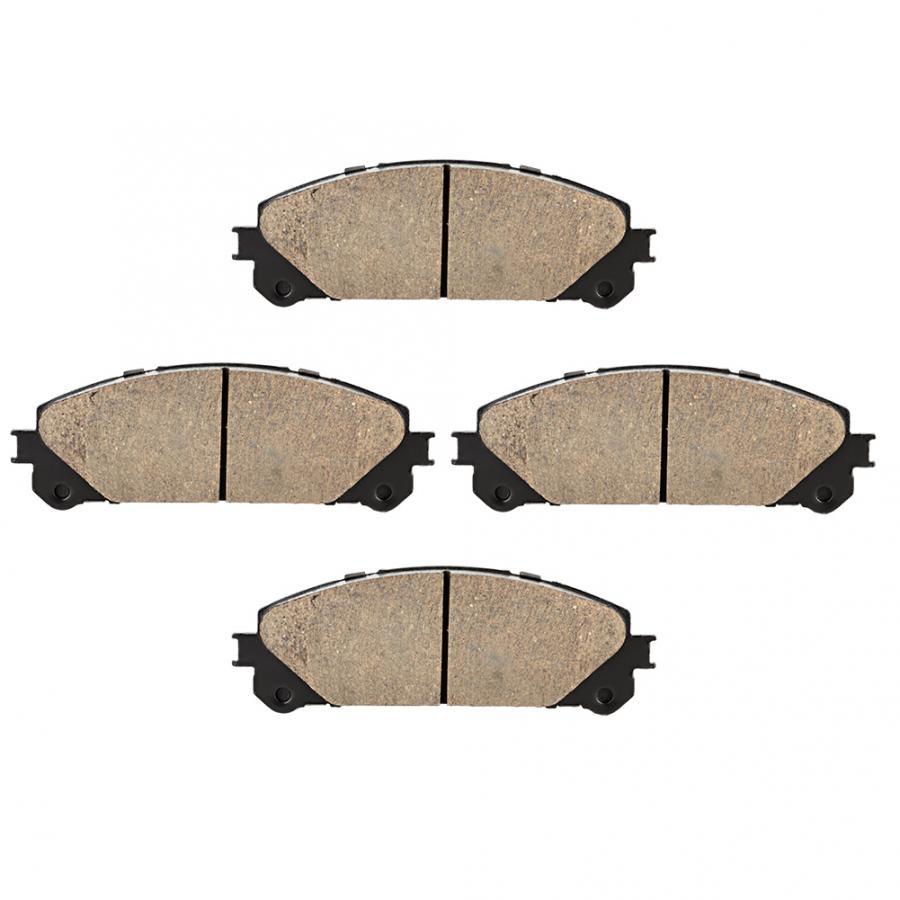 2 pièces Voiture Auto Céramique Plaquettes De Frein Avant D1324 Convient pour Toyota Highlander Voiture Plaquettes De Frein Avant De Voiture Accessoires