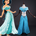 princess jasmine costume adults sexy Ball Gowns halloween costumes for women cosplay Deluxe Belly dance pants plus size custom