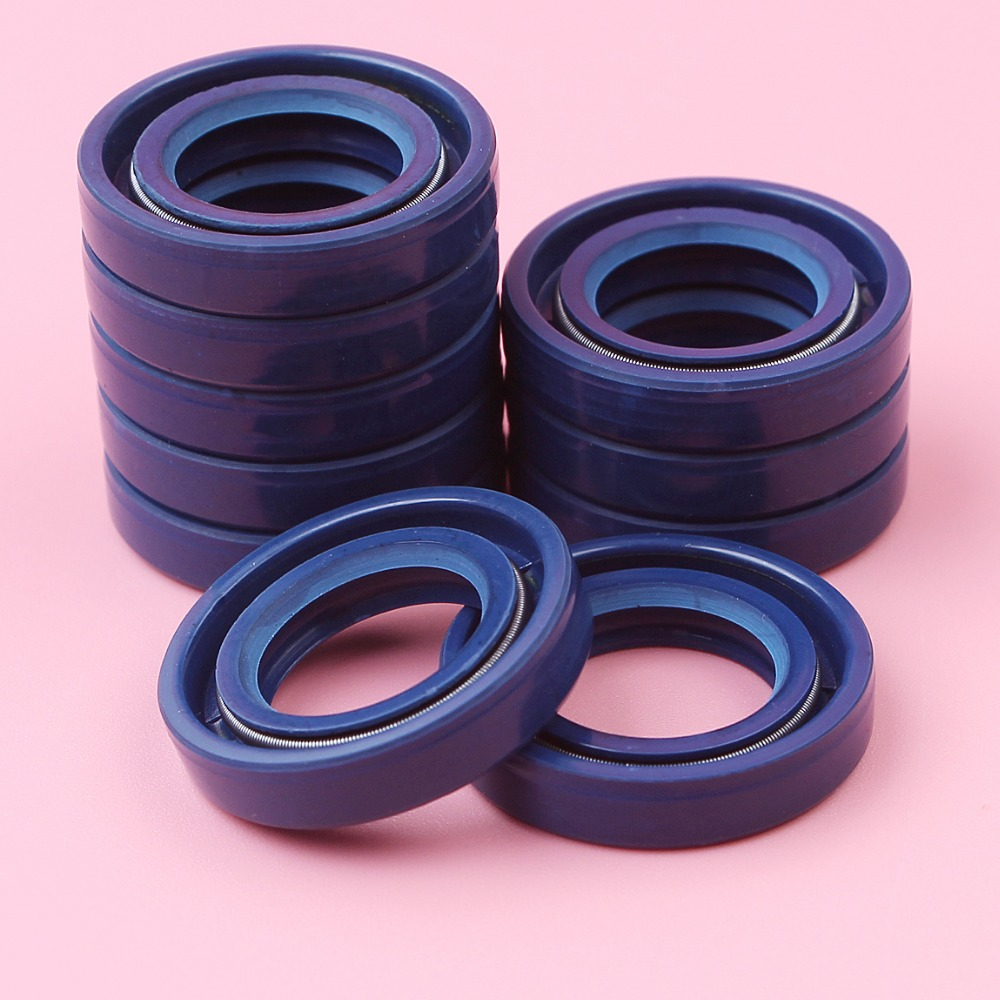 10pcs Crank Oil Seal For Stihl 017 018 021 023 025 MS170 MS180 MS210 MS230 MS250 15x25x5mm Chainsaw Spare Tool Part