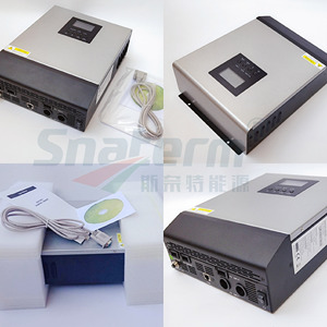 Image 4 - Promotion!!PS1KVA Pure Sine Wave Hybrid Solar Inverter 12VDC Input 230VAC Output with AC charger+50A PWM Solar Charge Controller