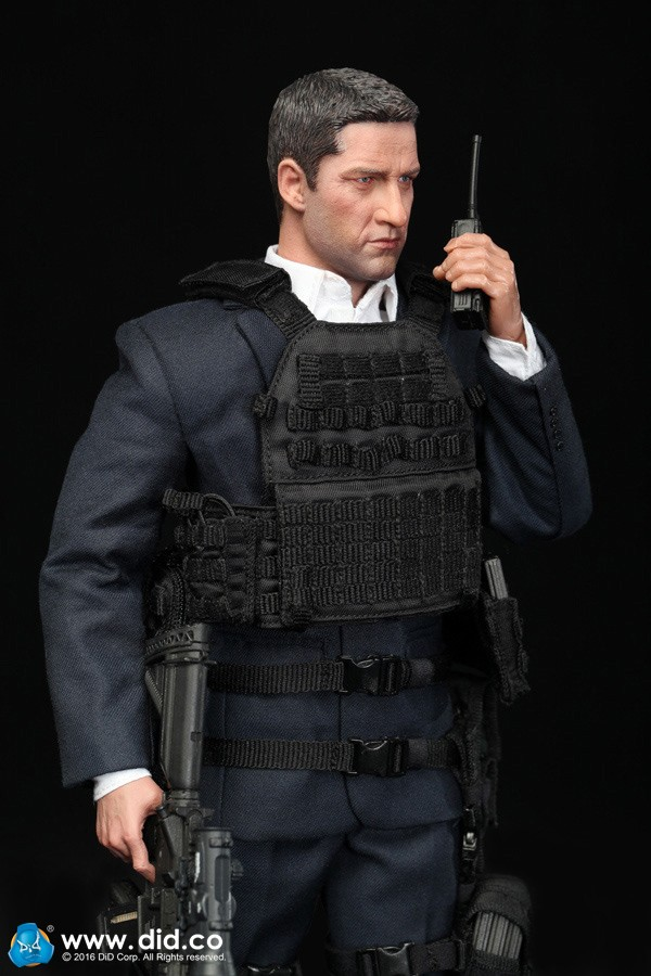 1/6th Super flexible figure 12 action figure doll Collectible model US Secret Service Special Agent MARK London Has Fallen
