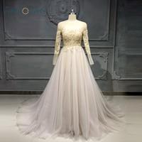 Elegant Evening Dresses Long Seleeve Dubai Formal Evening Gown Gold Applique Beaded Party Gown Vestido de Fiesta NE22