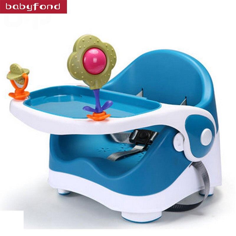2018 Portable Multifonctionnel chaise de bébé À Manger Pour Les Enfants À Apprendre À Manger Bébé tabouret de siège