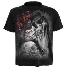 Summer New Funny skull 3d T Shirt Men Hipster Short Sleeve Tee Tops Men/Women Anime T-Shirts Homme sleeve tops Drop Ship