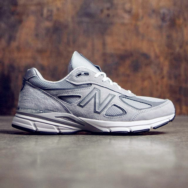 NEW BALANCE 990v4 Made in Usa For Men Breathable And Shock absorbing Shoes Mens Shoes Wide sports shoes new balance made 1978 made in the usa