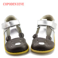 COPODENIEVEGirls Princess Shoes Autumn Genuine Leather Children Shoes For Girls Flower Kids Sandals Fashion Baby Toddler
