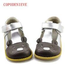 Copodenievegirls Prinses Schoenen Herfst Echt Leer Kinderen Schoenen Voor Meisjes Bloem Kinderen Sandalen Fashion Baby Peuter Schoenen