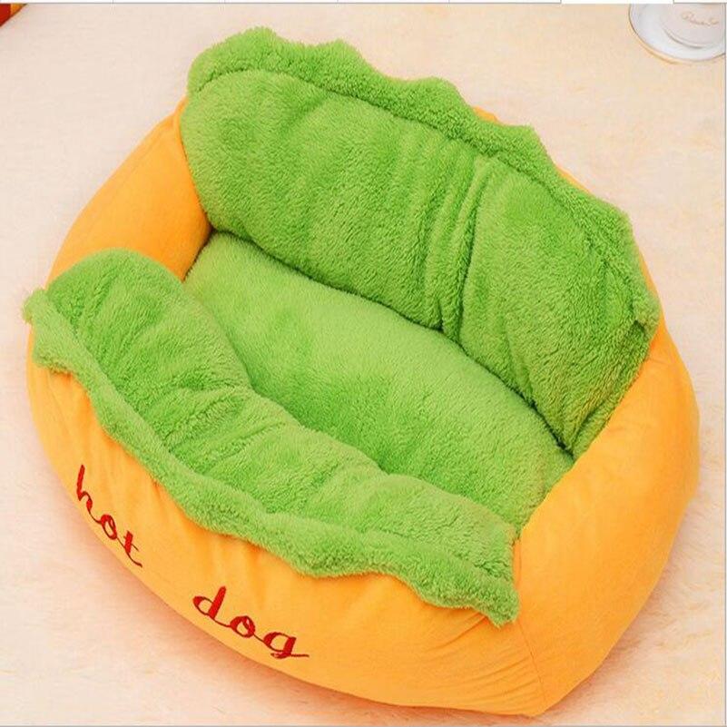 Heißer verkauf heißer Hund Bett Pet Winter Betten Mode Sofa Kissen Liefert Warme Hund Haus Pet Schlafsack Cozy Welpen nest Zwinger