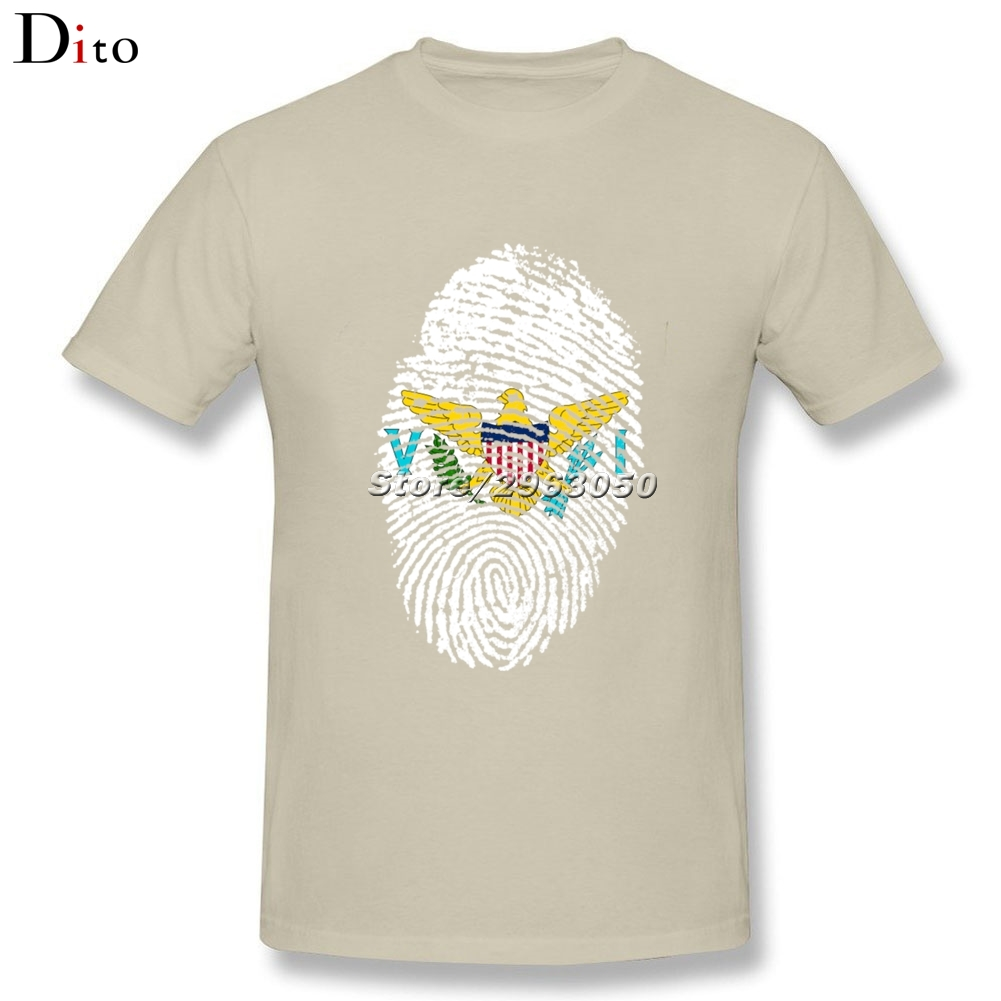 Couple t shirt design white - Us Virgin Islands Flag Fingerprint T Shirt Men Best Design Custom Short Sleeve Xxxl Couple T Shirts In T Shirts From Men S Clothing Accessories On