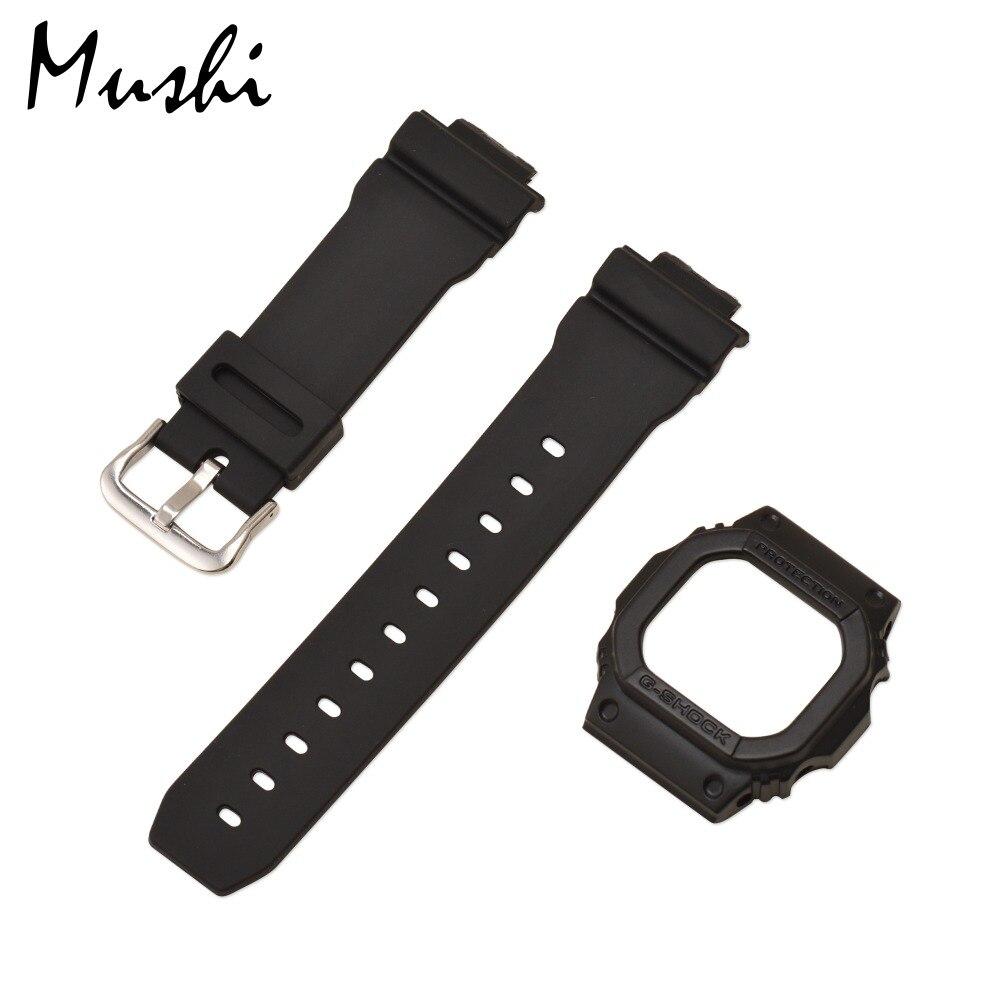 G Shock Zwart Met Rood.Goede Koop Ms Horlogebandje Voor Casio G 5600 Gw M5610 Glx 5600