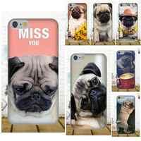 Oedmeb Mops Hund TPU Telefon Fall Für Xiaomi Redmi 5 4A 3 3 S Pro Mi4 Mi4i Mi5 Mi5S Mi Max Mix 2 Hinweis 3 4 Plus