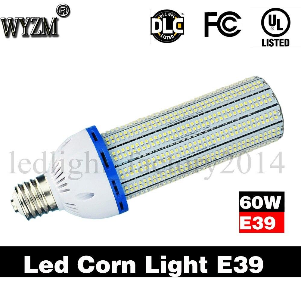 Бесплатная доставка от нас 60 Вт Светодиодная лампа для наружного E39 Светодиодная лампа Ul энергосбережения супер яркий белый