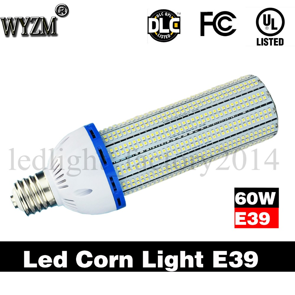 Free Shipping From US 60Watt Led Corn Light Bulb For Outdoor E39 Led Corn Lamp UL Approved Energy Saving Super Bright White цена