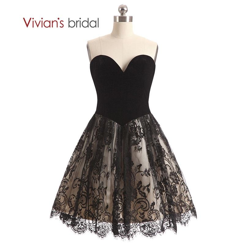 e03c264de121bb Весільні Вівіан з плеча кохання короткий плаття нареченої лінії мережива  весільні сукні для гостей