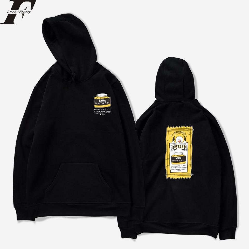Fashion Kpop Clothes BTS Love Yourself Women/Men Hoodies Sweatshirts Bangtan Boys Outwear Hoodies Anime Kpop Clothes XXS To 4XL