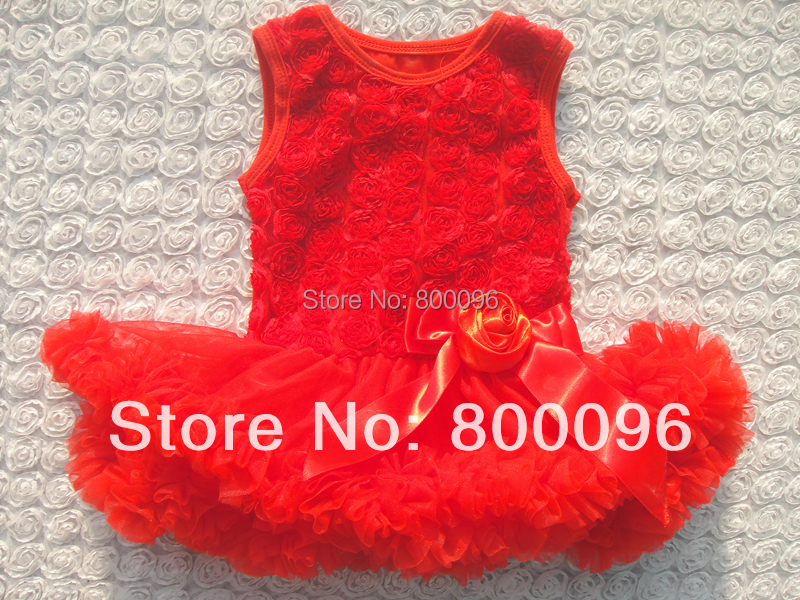 b5c68b5a2e3c New Red color branded baby girl dress full of embroidery flower baby party romper  dress baby wear KP RSN011-in Rompers from Mother   Kids on Aliexpress.com  ...