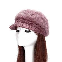 Women Artist Beret Cap Autumn&Winter Thick Warm Vintage Solid Colors Soft Felt Wool Beanie Hat Ladies Fashion Classic Berets