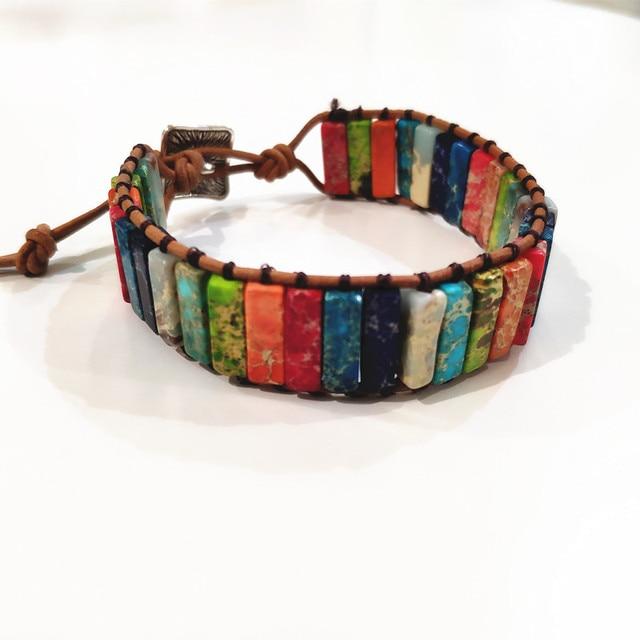 Unisex Stone Bracelet - 29 Beads  3