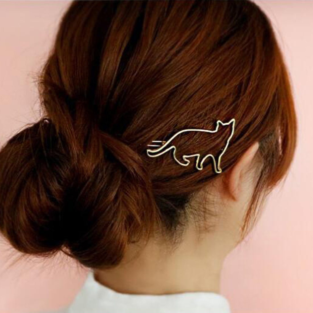 Cat Shaped Hair Clip