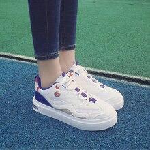 Женская мода высокого качества спорта и открытый обувь zapatos де mujer леди милый анти skid зашнуровать обувь женские удобные обувь