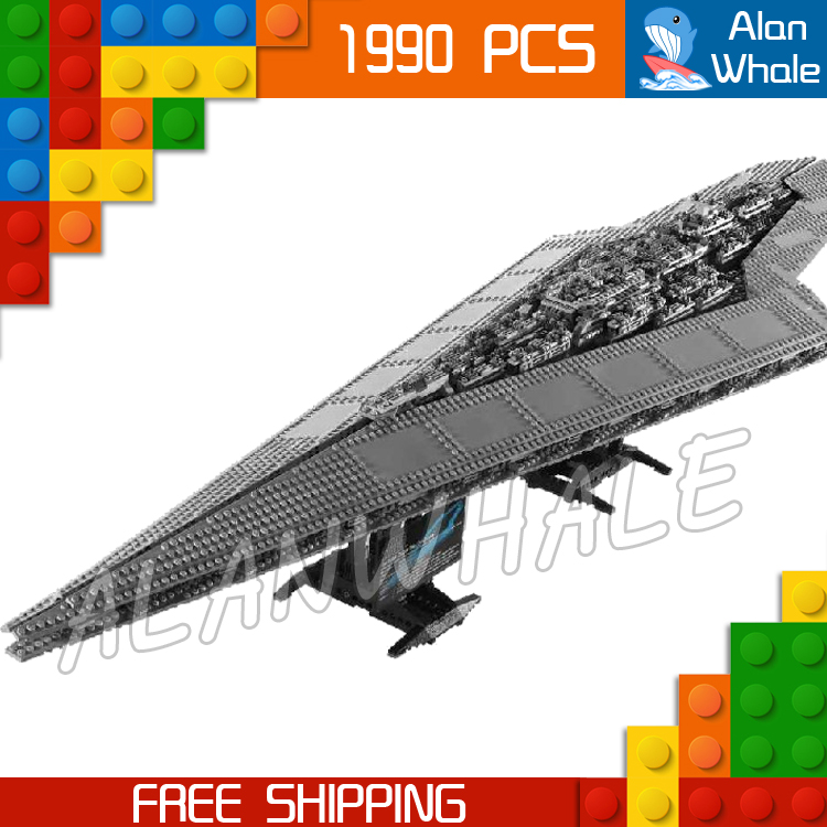 3208pcs New Space Wars Super Star Destroyer 05028 Assemble Model Building Blocks Big Gifts Toys Bricks Compatible With Lego