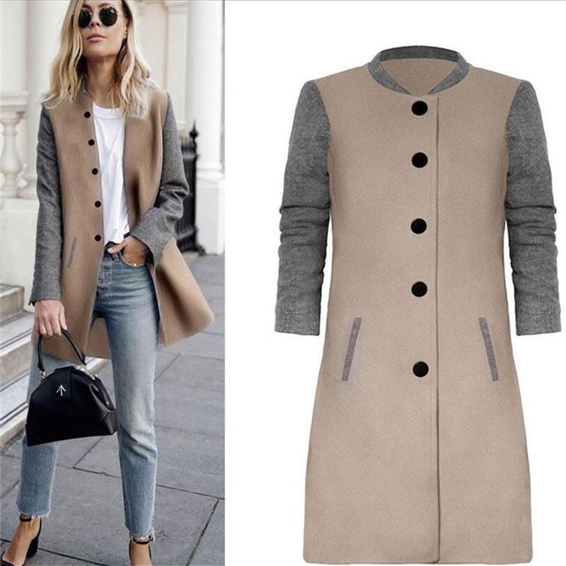 Neophil 2020 inverno casacos de lã longo