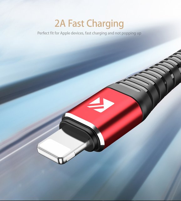 Retractable USB Cable for iPhone