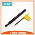 Высокое качество S1006K-SWUBR06 93 градусов внутреннего точения держатель инструмента для WBGT060102 вставлять внутренние расточные Бар токарный стан...