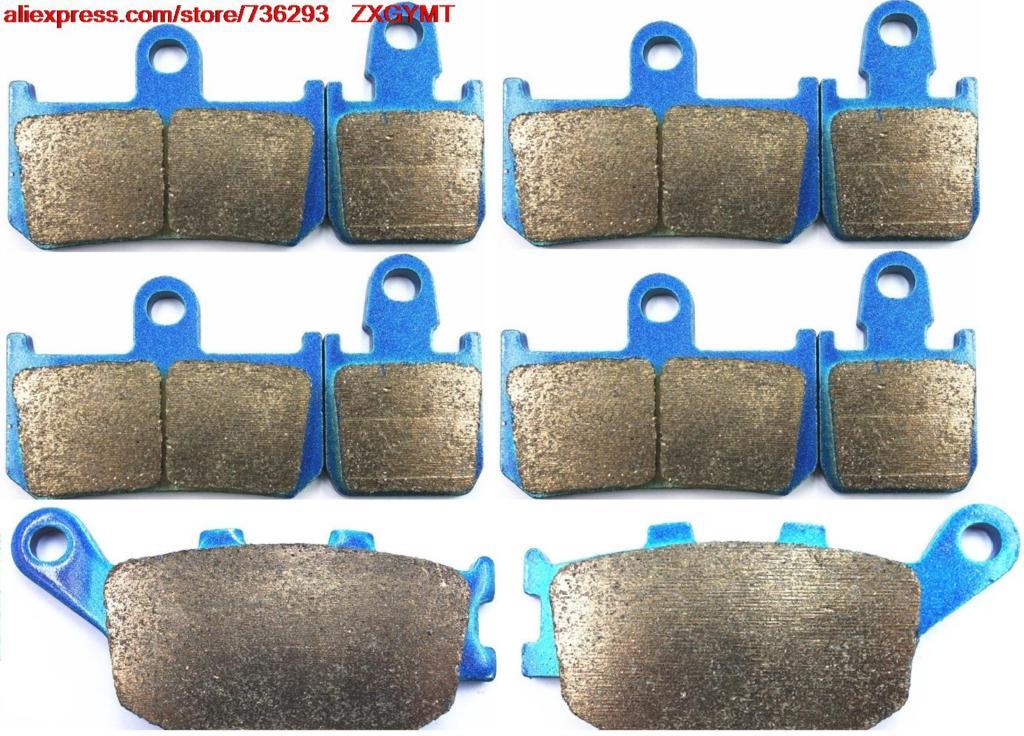 ФОТО Sinter Motorcycle Brake Pads Set fit YAMAHA YZF1000 YZF1000 R1 YZF 1000 R1 ( Rad.cal )( 4-pad ) 2007 - 2008