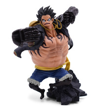 Anime One Piece The Top War Gear Fourth Monkey D. Luffy PVC Action Figure Doll Collectible Model Toy Christmas Gift 8 66statue one piece the straw hat pirates monkey d luffy vs rob lucci gk action figure collectible model toy 22cm box d822