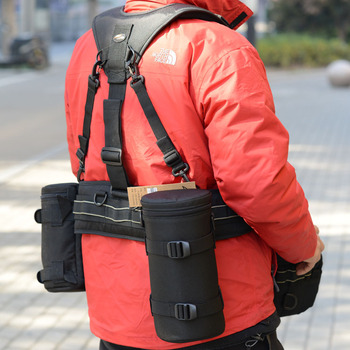 Camera Belt Camera Bag Backpack Multifunctional Backpack System Lens Tube Suspension Belt SLR Camera Accessories