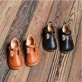 2016 весной детская обувь из натуральной кожи девушки принцесса обувь мягкая подошва Мокасины-обувь обувь одного розничная