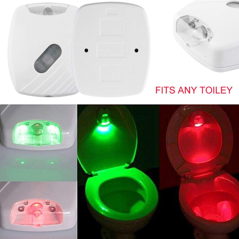 Luzes da Noite sanitário de iluminação 2 cores Potência : 0-5 w